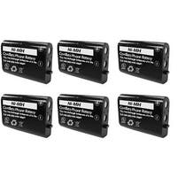Replacement VTech 89-1324-00-00 Cordless Phone Battery (6 Pack)