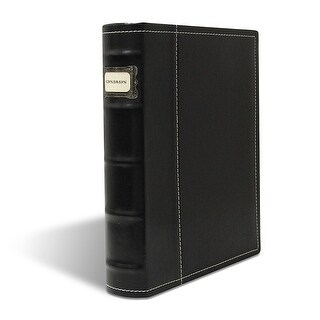 Bellagio-Italia Black DVD, CD Book Box Holds 48 discs