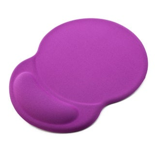 Silicone Office Computer Laptop Gel Wrist Rest Support Mice Mouse Pad Mat Purple