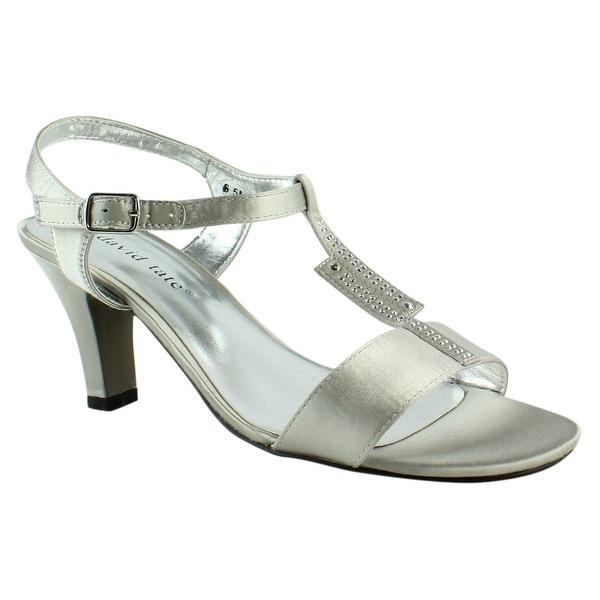 c41427408de Shop David Tate Womens Silver Sandals Size 6.5 - Free Shipping On ...
