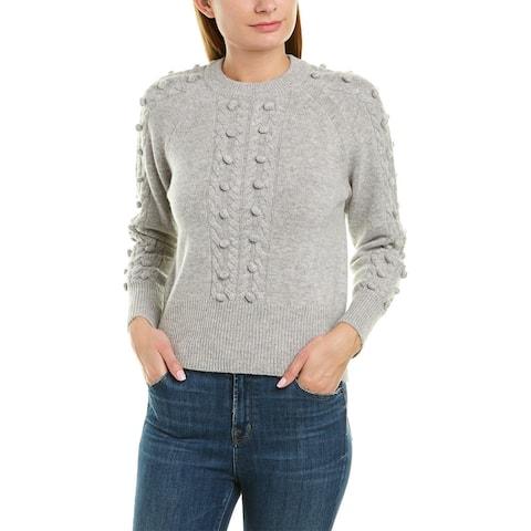 Naadam Wool & Cashmere-Blend Sweater - CEMENT