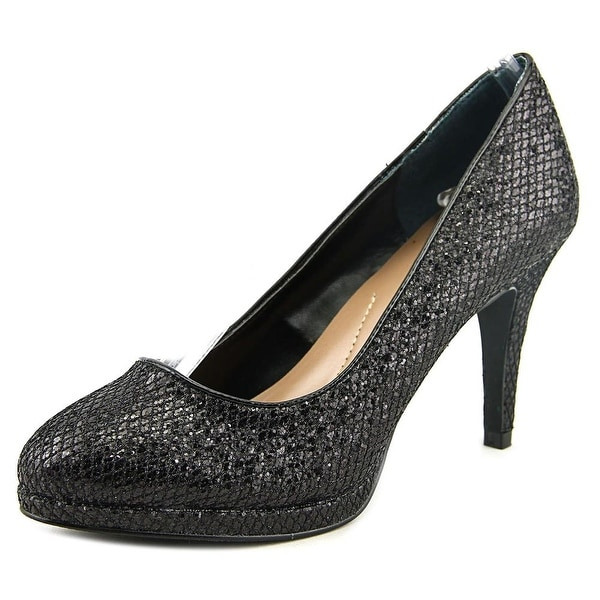 Style & Co Nikolete Women  Round Toe Synthetic Black Heels