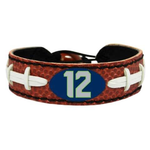Seattle Seahawks Bracelet Classic Football Fan Design - Multi-Color