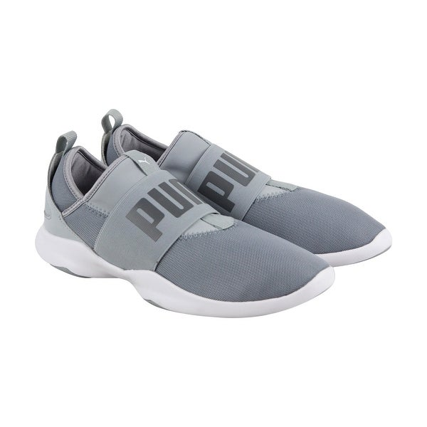 e82eea128 Shop Puma Dare Mens Gray Mesh Athletic Slip On Training Shoes - Free  Shipping Today - Overstock - 22897790
