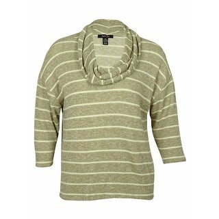 Style & Co Women's Striped Cowl Neck Sweater