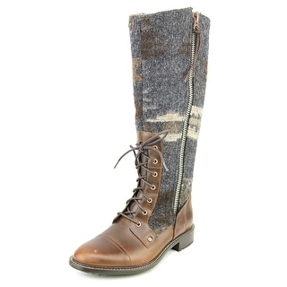 Woolrich Roadhouse Round Toe Canvas Knee High Boot
