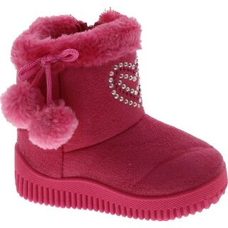 Static Home Kids High Top Warm Slippers