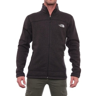 The North Face  Leo Full Zip Jacket Basic Jacket Black Heather