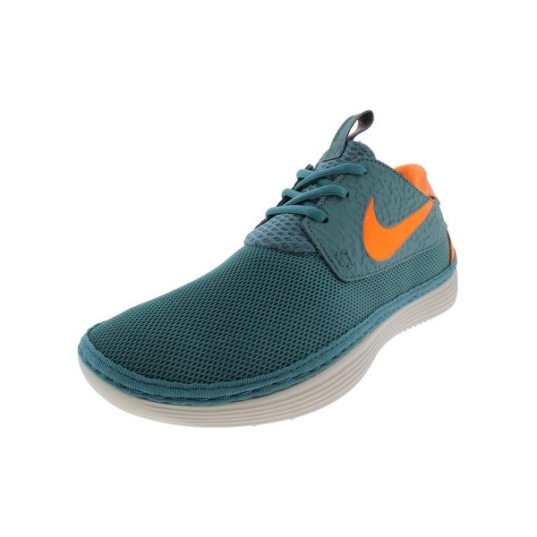 9e135325 Shop Nike Mens Solarsoft Moccasin Running Shoes Mesh Sport - Free ...