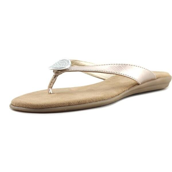 Aerosoles Chlotheshorse Women Open Toe Synthetic Pink Thong Sandal