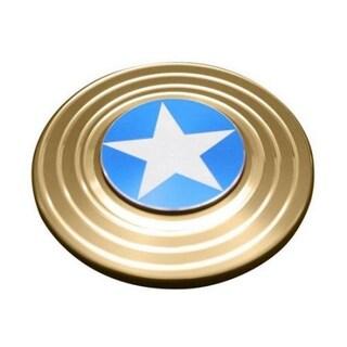 Fidget Spinner Aluminum Metal Premium Quality (Option: Yellow)