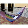 Sunnydaze Multi-Colored Mayan Hammock - Thumbnail 10