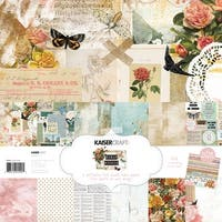 "Kaisercraft Paper Pack 12""X12"" 12/Pkg-Scrap Studio"