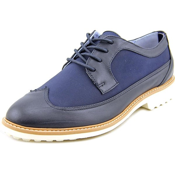 Tommy Hilfiger Ivah Women  Wingtip Toe Leather Blue Oxford