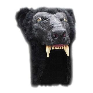 Adult Black Bear Halloween Helmet