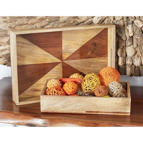 Multi Dried Plant Material Coastal Orbs & Vase Filler Nature (Set of 2) - 6 x 5 x 11Round