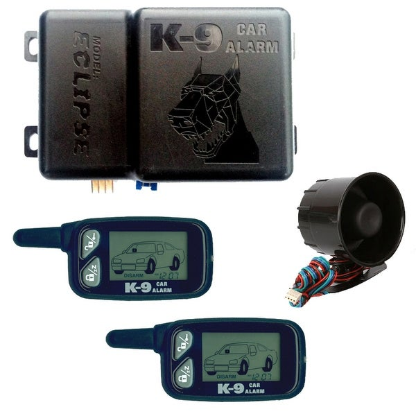 Omega K9 2 Way Paging Alarms 2 Remotes