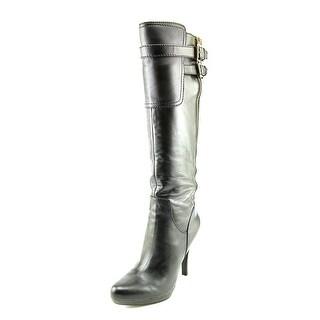 Nine West Joetteo   Round Toe Leather  Boot