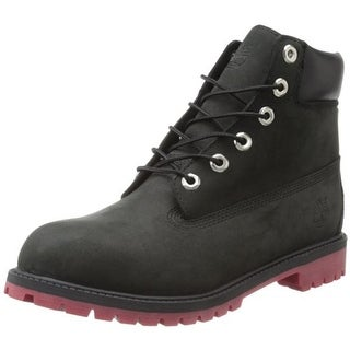 Timberland Boys Toddler Leather Boots - 4 medium (d)