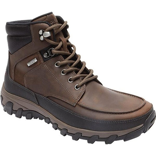 21a321cca808 Shop Rockport Men s Cold Springs Plus Moc Toe Boot Brown - Free ...