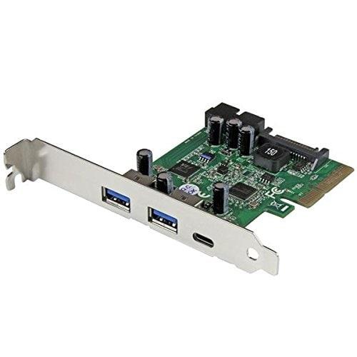 Startech - Pexusb312eic 5Port Usb 3.1 Host Controllernwith Usb-C Pcie Usb 3 Combo Card