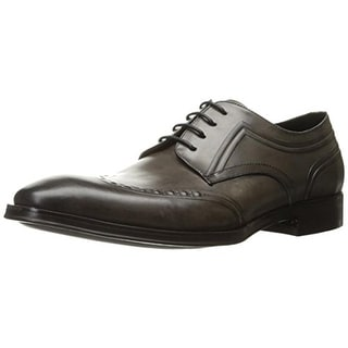 Kenneth Cole New York Mens Change It Up Derby Shoes Leather Wingtip