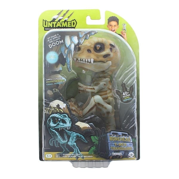 Fingerlings Untamed T Rex Interactive Collectible Dinosaur Gitd Doom Multi Overstock 30690020 They first appeared during the triassic period, between 243 and 233.23 million years ago. fingerlings untamed t rex interactive collectible dinosaur gitd doom multi