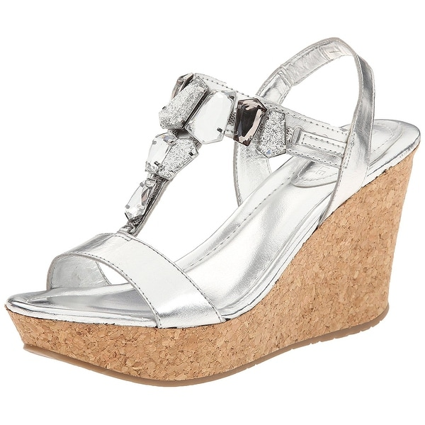 Kenneth Cole Reaction Womens Sole Lites Open Toe Special Occasion T-Strap San...