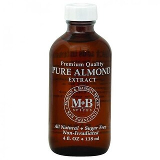 Morton & Bassett - Pure Almond Extract ( 3 - 4 OZ)