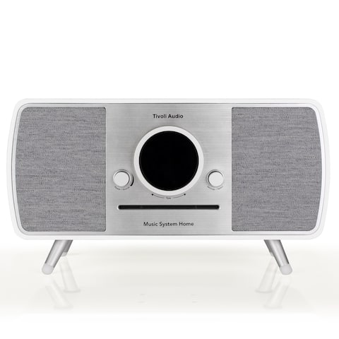 Tivoli Audio Music System Home All-In-One Music System with Amazon Alexa Voice Assistance (White)