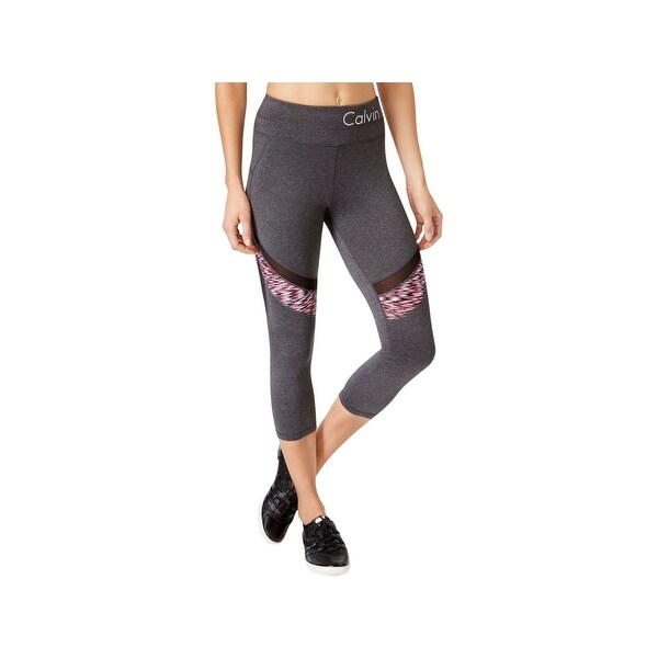 8fef9d2c20 Shop Calvin Klein Performance Womens Capri Pants Crop Leggings - Free  Shipping On Orders Over $45 - Overstock - 21951654