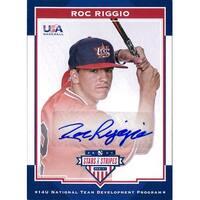 Signed Riggio Roc 2017 Panini Baseball Card autographed
