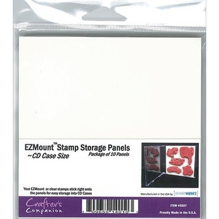 "EZMount Stamp Storage Panels 10/Pkg-4.75""X4.75"""