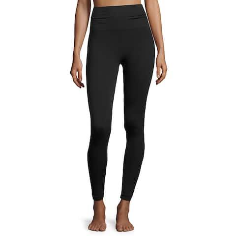 Spanx Womens Black Look at me now Very Black Seamless Leggings