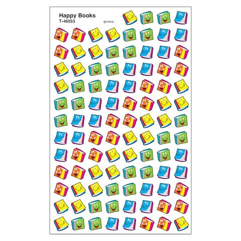 (12 Pk) Happy Books Supershapes