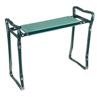 24 x 19 in. Foldable Sit or Kneel Bench with Soft Foam Pad