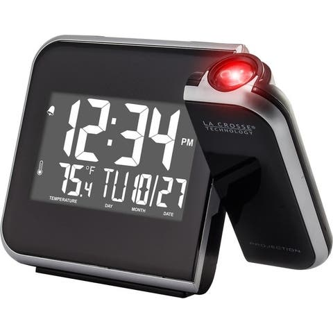 Lacrosse 616-1412 lcd projection alarm clock