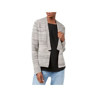 Eileen Fisher Womens Cardigan Sweater Tencel Blend Notch Collar