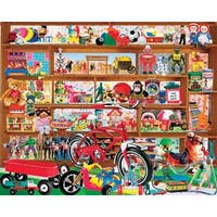 "Jigsaw Puzzle 1000 Pieces 24""X30""-Vintage Toys"