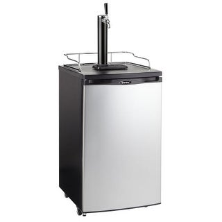 Danby DKC052 20 Inch Wide 5.2 Cu. Ft. Full Size Free Standing Kegerator with Sin