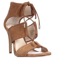I35 Ritaa Lace Up Dress Sandals, Toast
