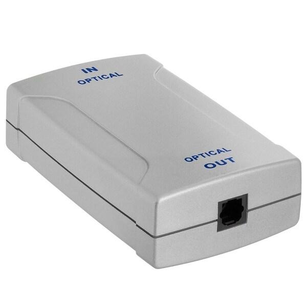 Optical Toslink Jack to Toslink Jack Digital Audio Amplifier Box