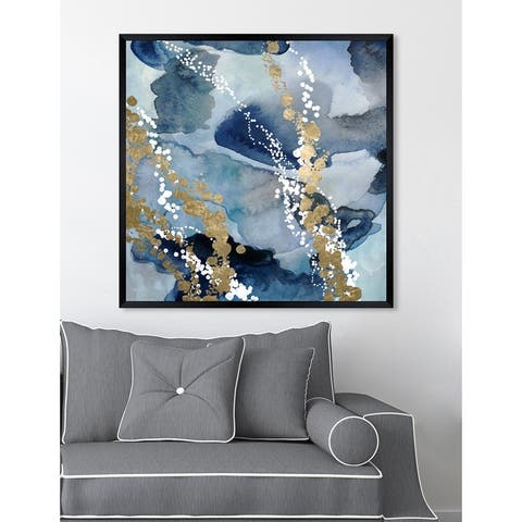 Oliver Gal 'Even More Love' Abstract Framed Wall Art Print