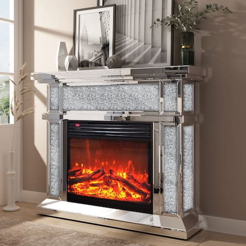 KOHROS Fireplace Mantel Freestanding Heater