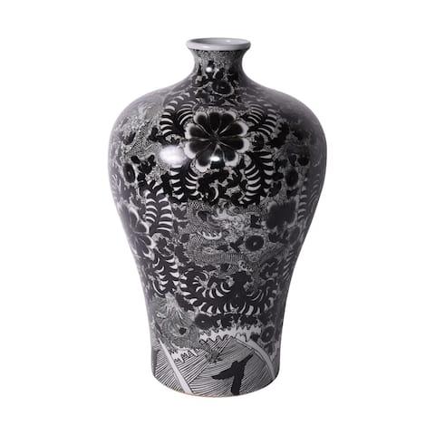Handmade Dragon Prunus Vase