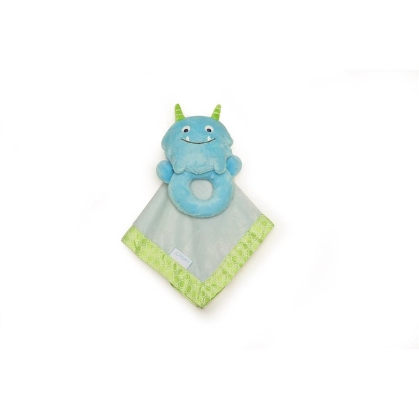 Carters Monster Rattle and Security Blanket