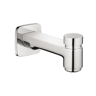 """Hansgrohe 71412  Logis 5-7/8"""" Diverter Wall Mounted Tub Spout - Chrome"""