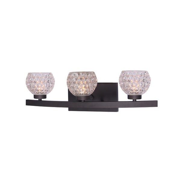 Woodbridge Lighting 16353 C00510 Charlotte 3 Light 21 Wide Bathroom Vanity Ligh