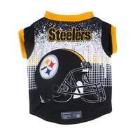 Pittsburgh Steelers Pet Performance Tee Shirt Size XL