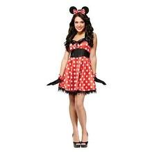 Retro Miss Mouse Sexy Animal Halloween Costume